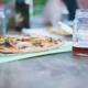 pizza z napojem