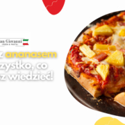 Pizza z ananasem - hawajska